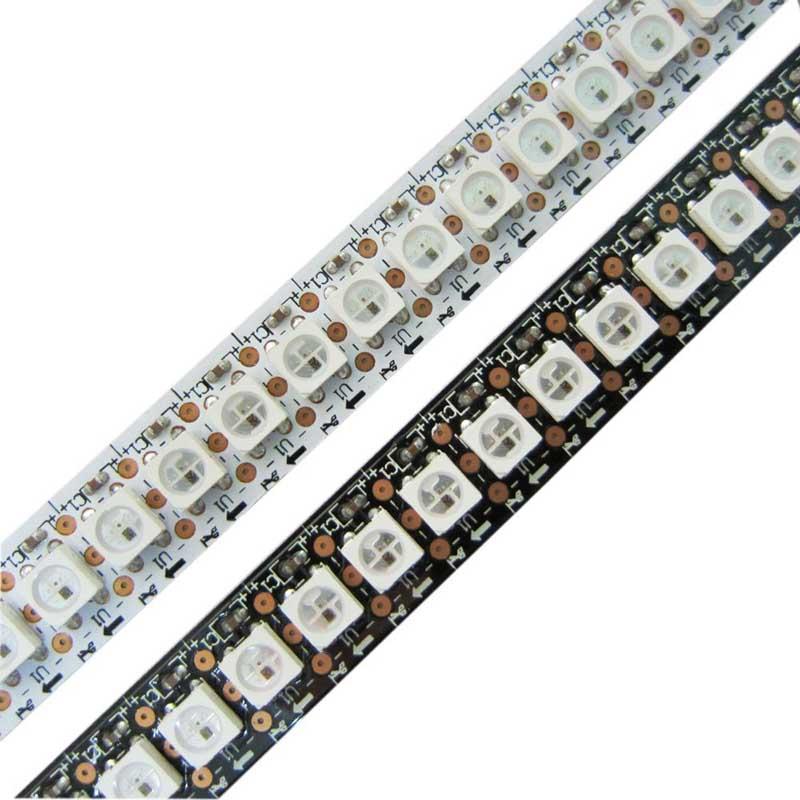 5v Ws2812b 144 Ic Led Pixel Strip Lights Ip67 Mjjcled Com